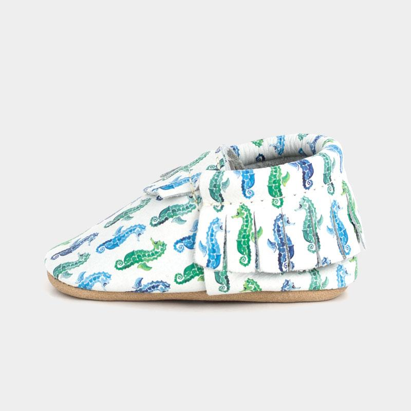 A Seahorse, of Course! Moccasins Soft Soles