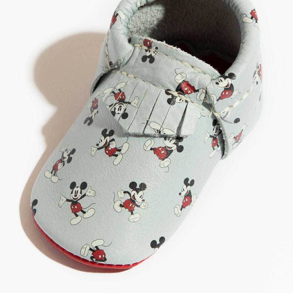 All About Mickey City Moccs Soft Soles