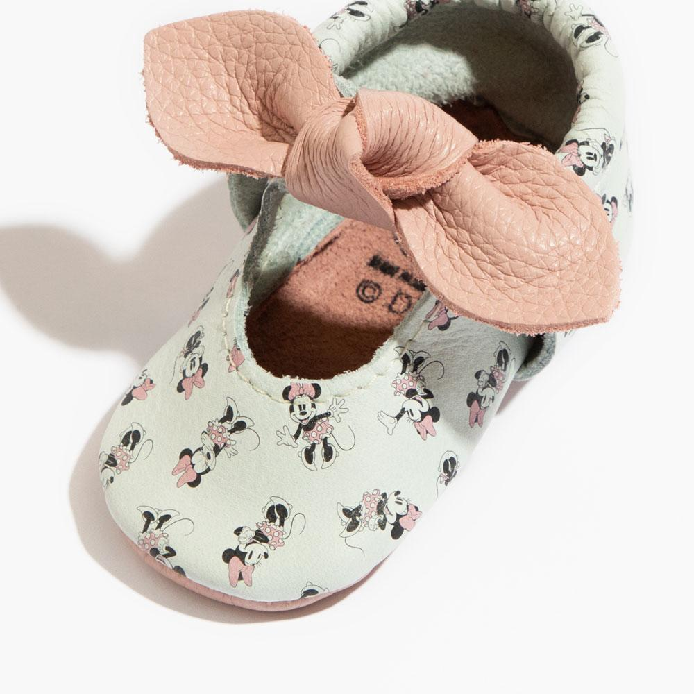 All About Minnie Knotted Bow Mocc Mini Sole knotted bow mocc Mini Sole