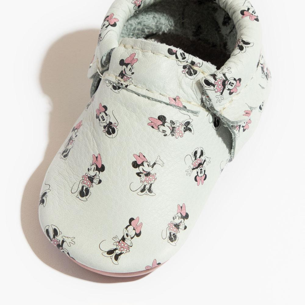 All About Minnie City Moccs Soft Soles