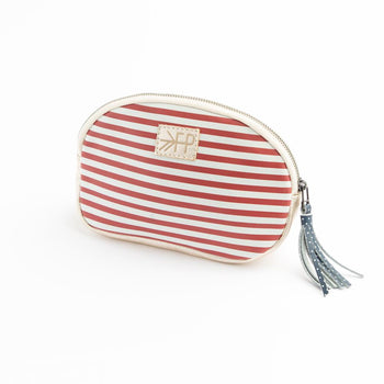 Americana Leather Cosmetic Pouch | Pre-Order