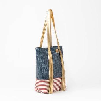 Americana Leather Tote