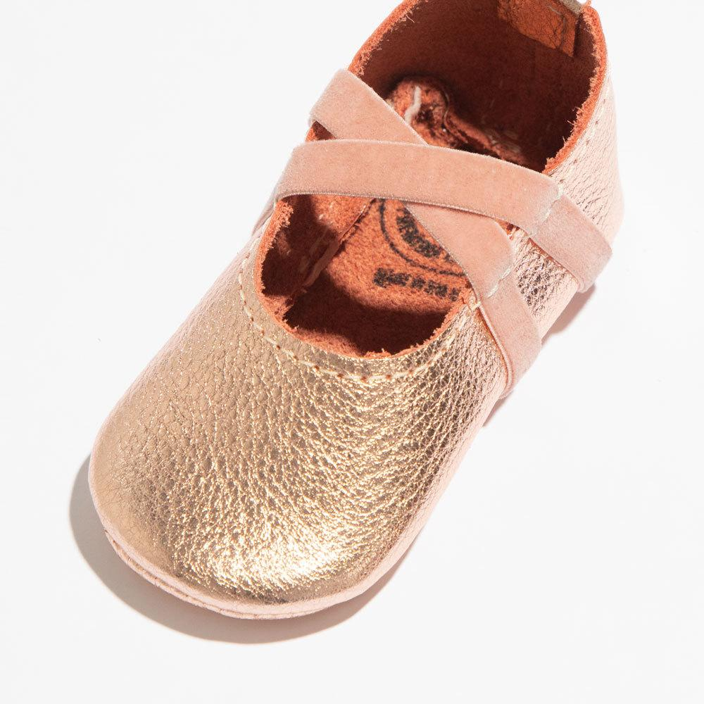 Rose Gold Ballet Slipper Mini Sole Ballet Slipper Mini Sole