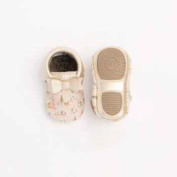 Bambi and Friends Bow Mocc Mini Sole Mini Sole Bow Moccasin mini soles