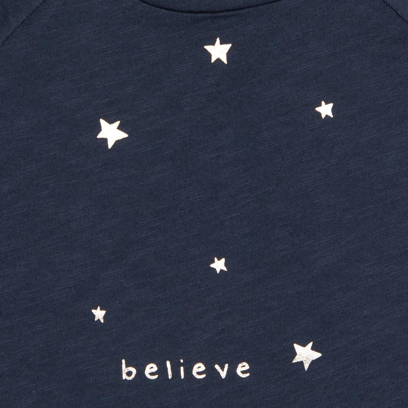 Believe Long Sleeve Tee Graphic Tee Kids - Long Sleeve Graphic Tee Kids Clothing