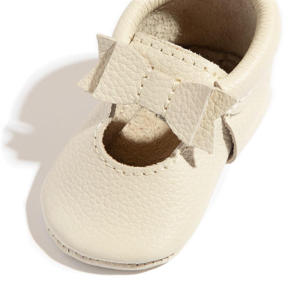 Birch Ballet Flat Bow Mocc Mini Sole Ballet Flat Bow Mocc mini soles