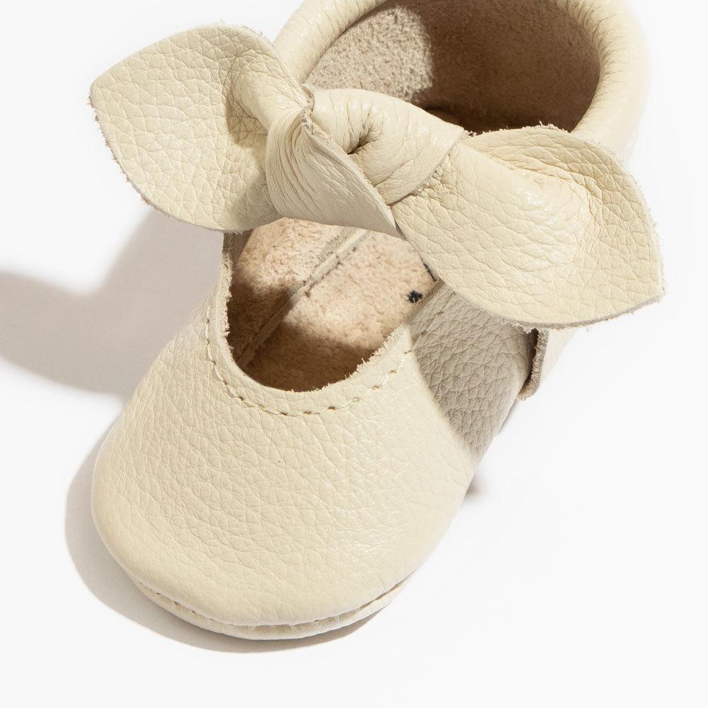 Birch Knotted Bow Mocc knotted bow mocc Soft Soles