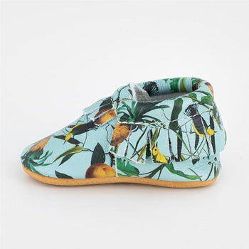 Birds of Paradise Moccasins Soft Soles