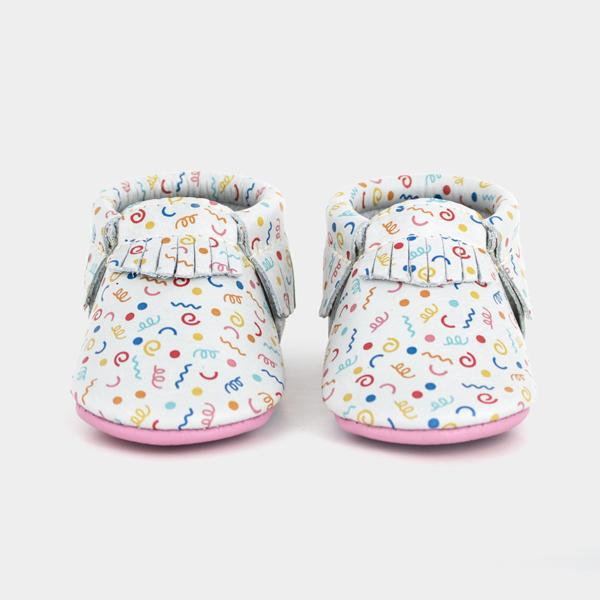 Birthday Girl Moccasins Soft Soles