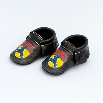 Marvel Black Panther Moccasins Soft Soles