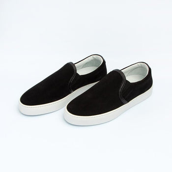 Women's Ebony Slip-On Sneaker Women's - Slip-On Women's Sneakers