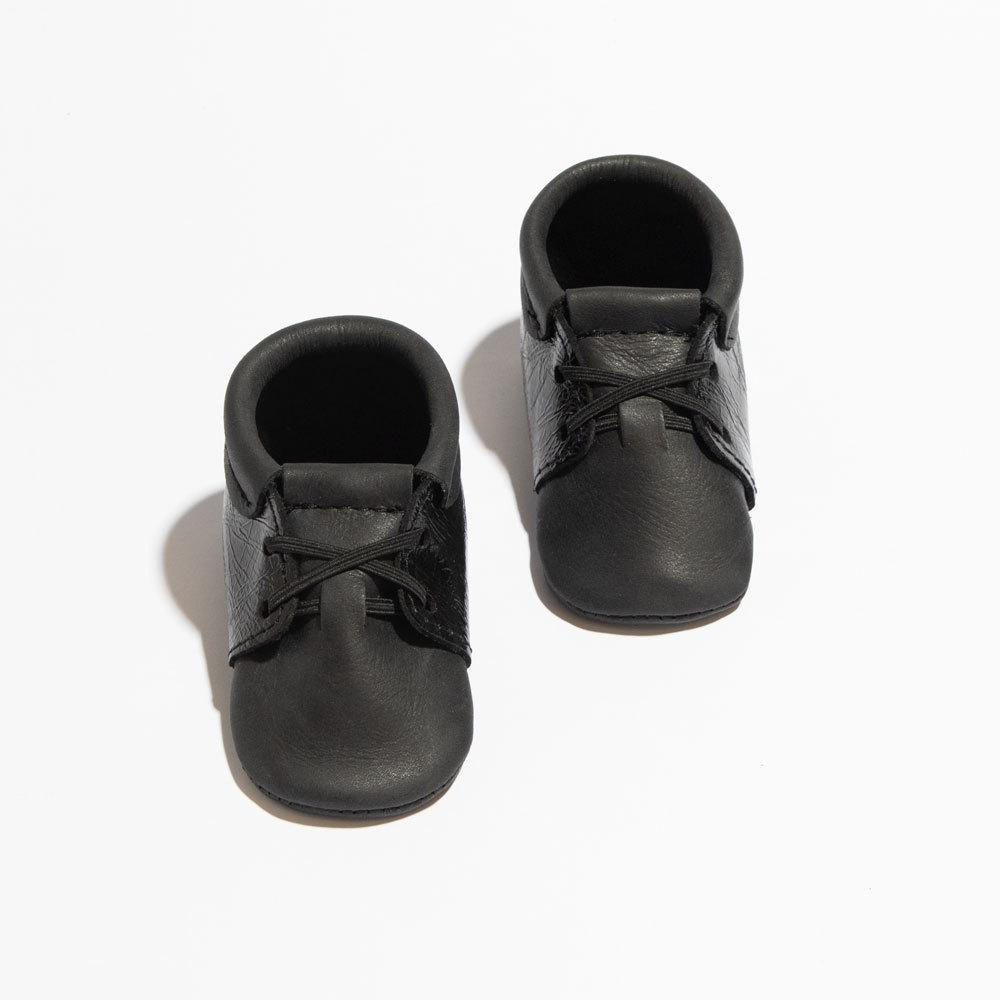 Black Patent Cap-Toe Oxford Mini Sole Oxford Mini Sole