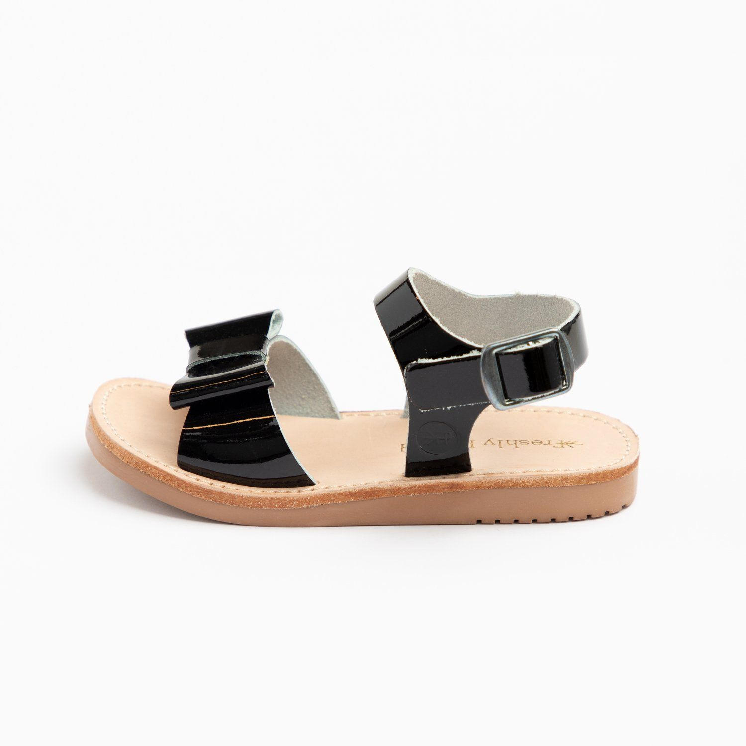 Black Patent Bayview Bayview Sandal Kids Sandals