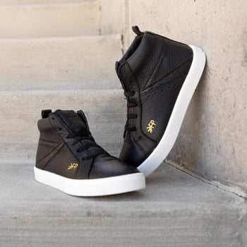 Ebony High Top Sneaker