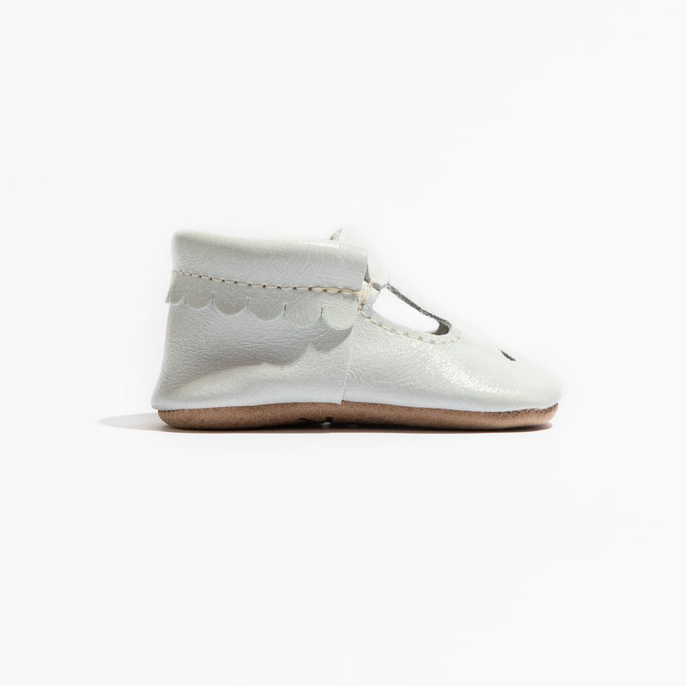 Blanc Patent Mary Jane Mary Jane Soft Sole