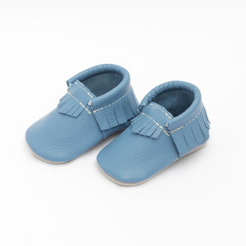 Bluebird Day Moccasins Soft Soles