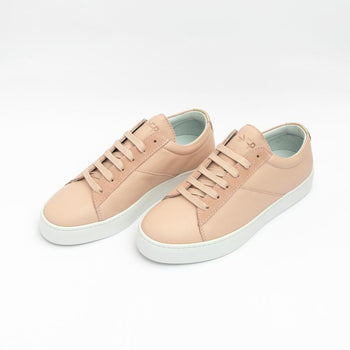 Women's Blush Classic Lace-up Sneaker Women's - Lace-Up Women's Sneakers