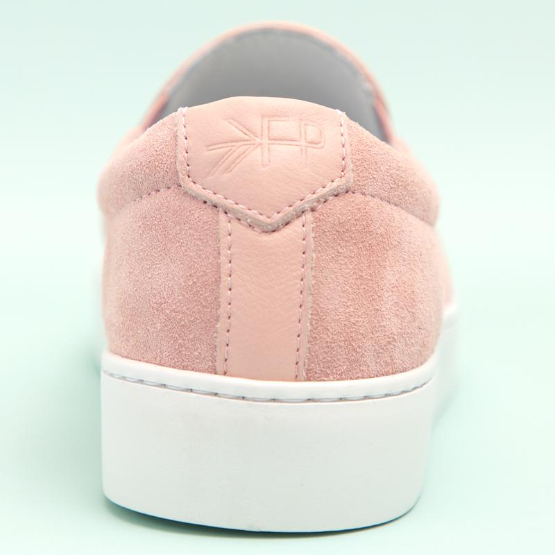 Women's Blush Slip-On Sneaker Women's - Slip-On Women's Sneakers
