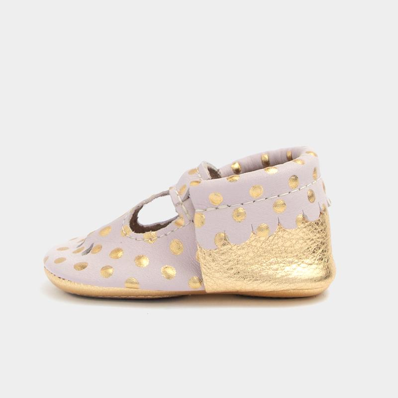 Heirloom Blush & Gold Mary Jane Mini Sole