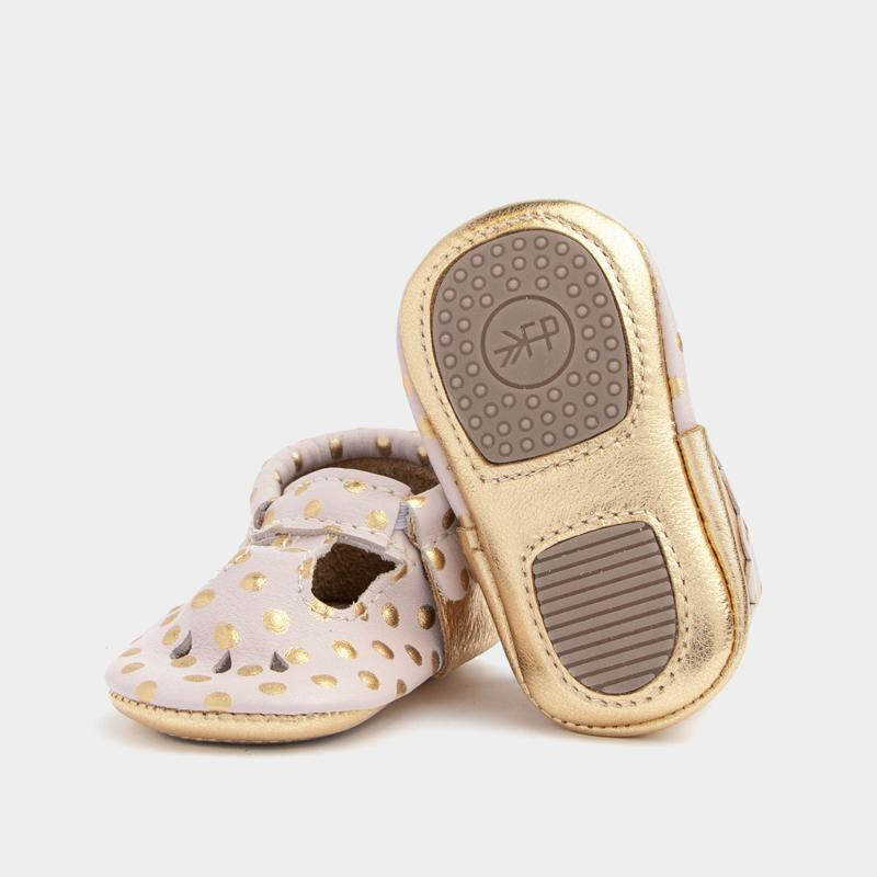 Heirloom Blush & Gold Mary Jane Mini Sole Mini Sole Mary Jane mini soles