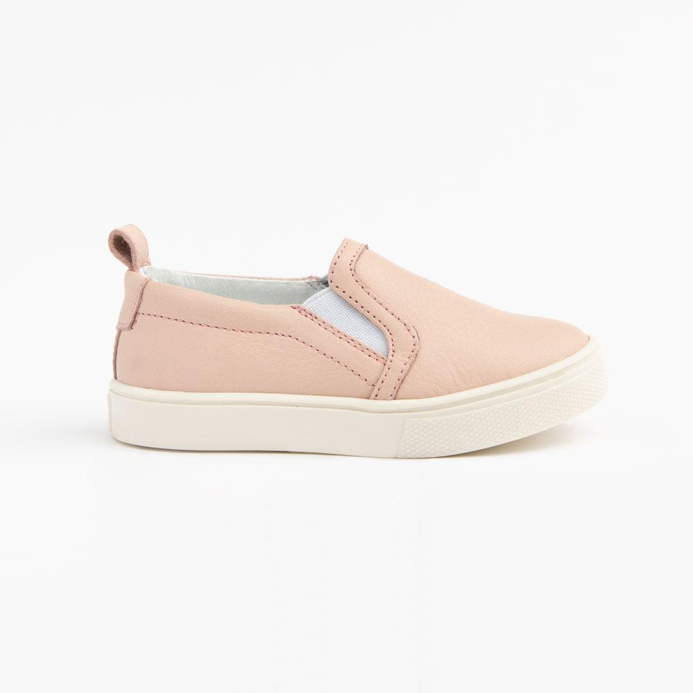 Blush Slip-On Sneaker Kids - Classic Slip-On Sneaker Kids Sneakers