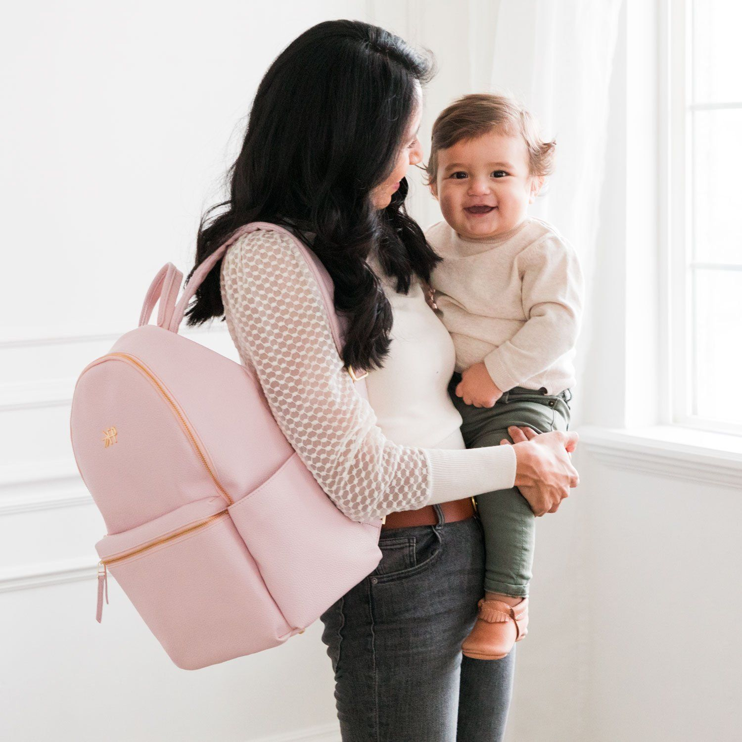 Blush Classic City Pack II Classic City Pack Diaper Bag