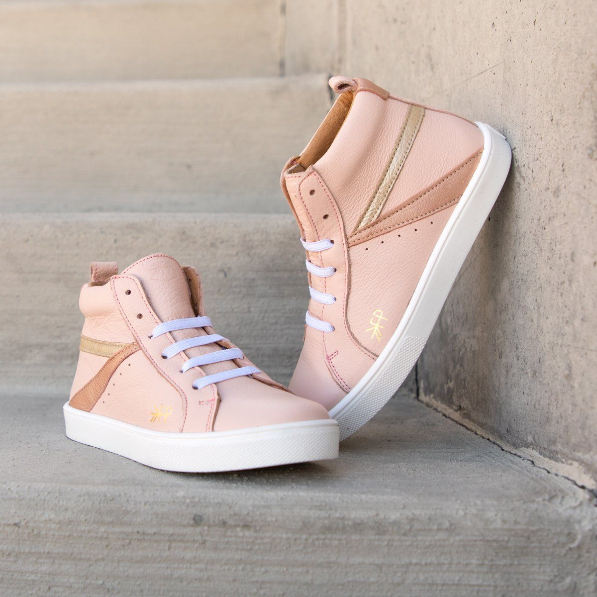 Blush High Top Sneaker Kids - High Top Sneaker Kids Sneakers