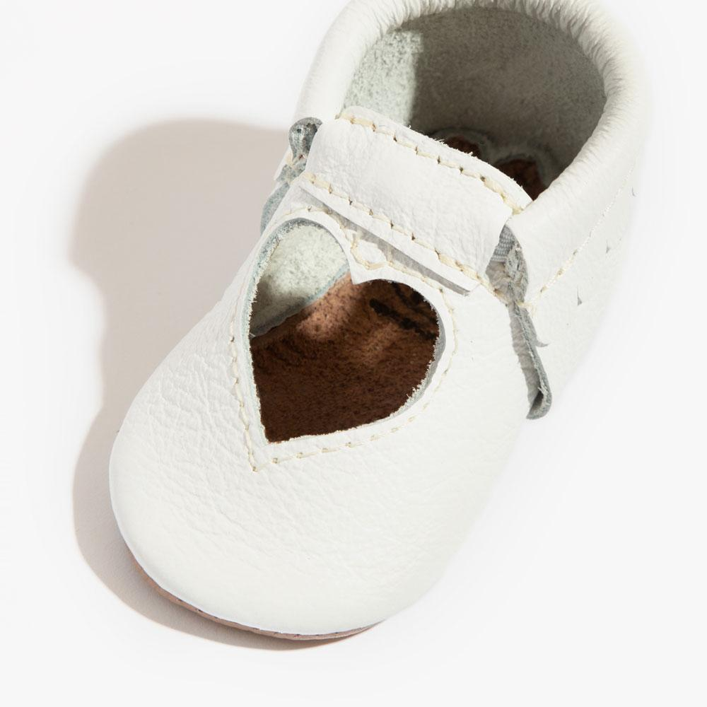 Bright White Sweetheart Ballet Flat Mini Sole Mini Sole Sweetheart Ballet Flat mini soles