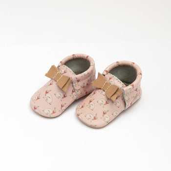 Bunny Hop Bow Mocc Bow Moccasins Soft Soles