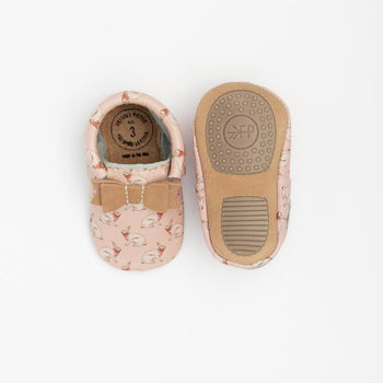 Bunny Hop Bow Mocc Mini Sole Mini Sole Bow Moccasin Mini soles