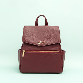 Burgundy Mini Classic Bag Mini Classic Diaper Bag Bags