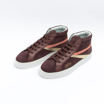 Women's Burgundy High Top Sneaker Women's - High Top Women's Sneakers