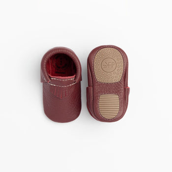 Burgundy City Mocc Mini Sole
