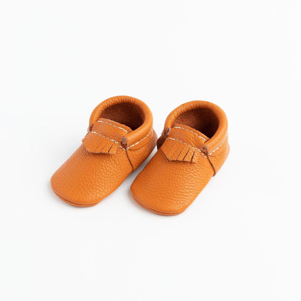 Burnt Orange City Mocc City Moccs Soft Soles