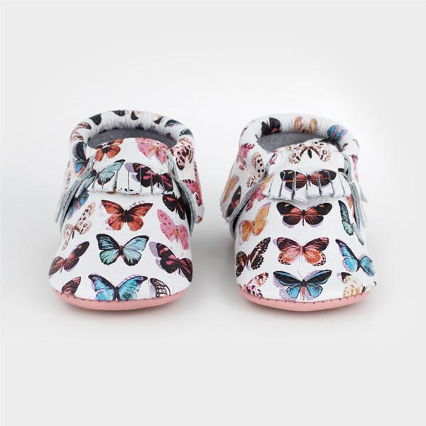 Butterfly Moccasins Soft Soles