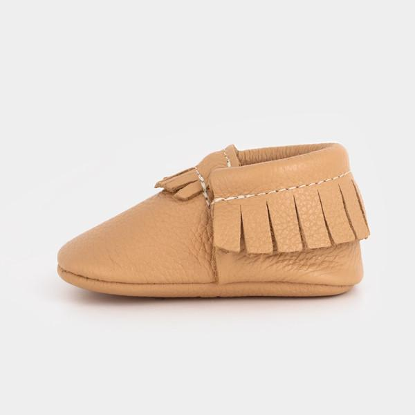Butterscotch Moccasins Soft Soles