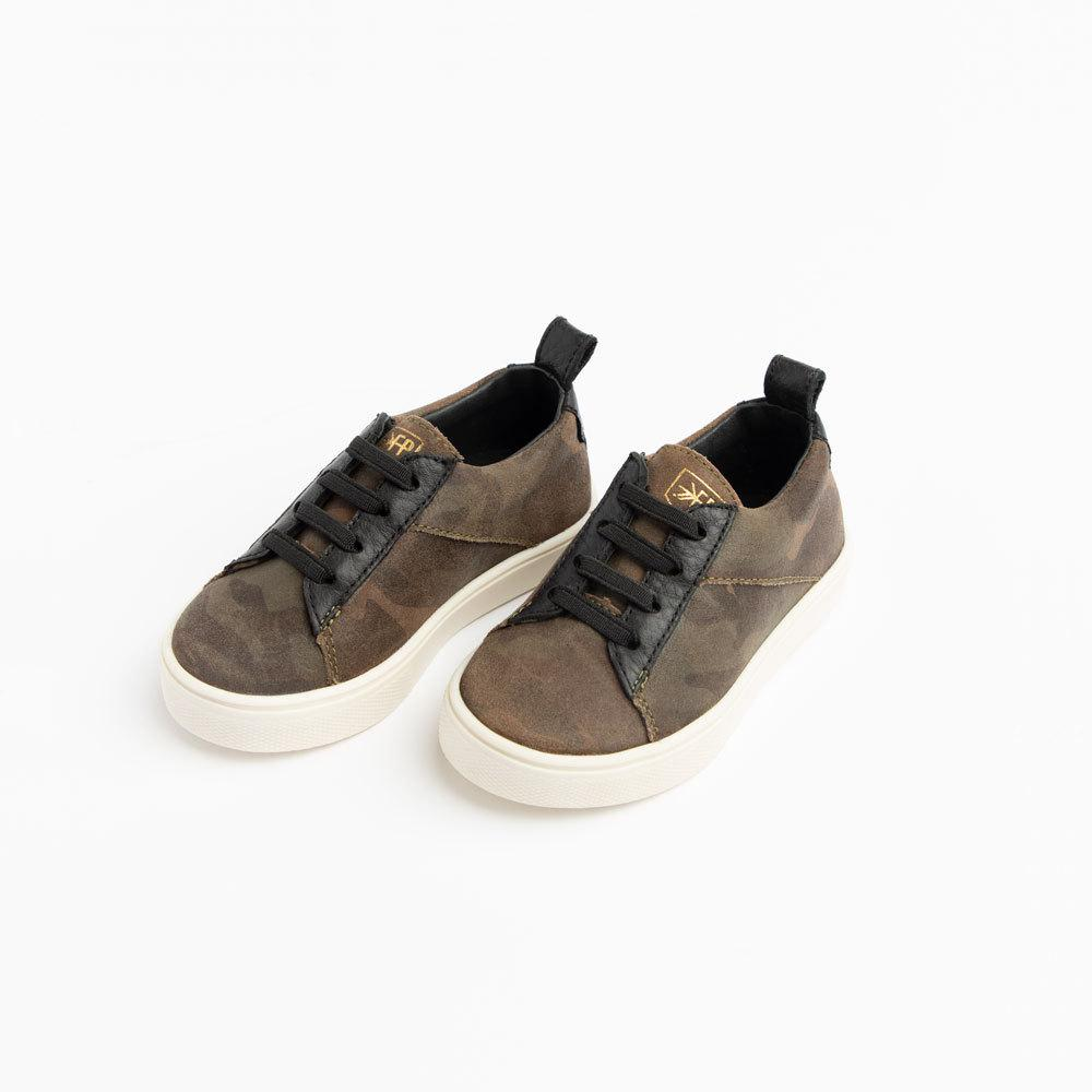 Camo Lace-Up Sneaker kids - lace up Kids Sneakers