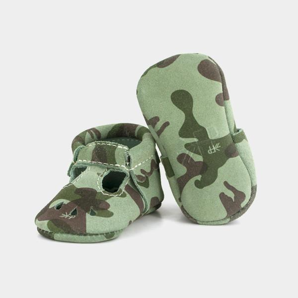 Camo Mary Jane Mary Janes Freshly Picked