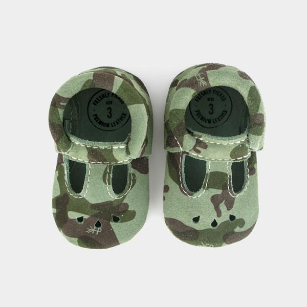 Camo Mary Jane Mini Sole Mini Sole Mary Jane mini soles