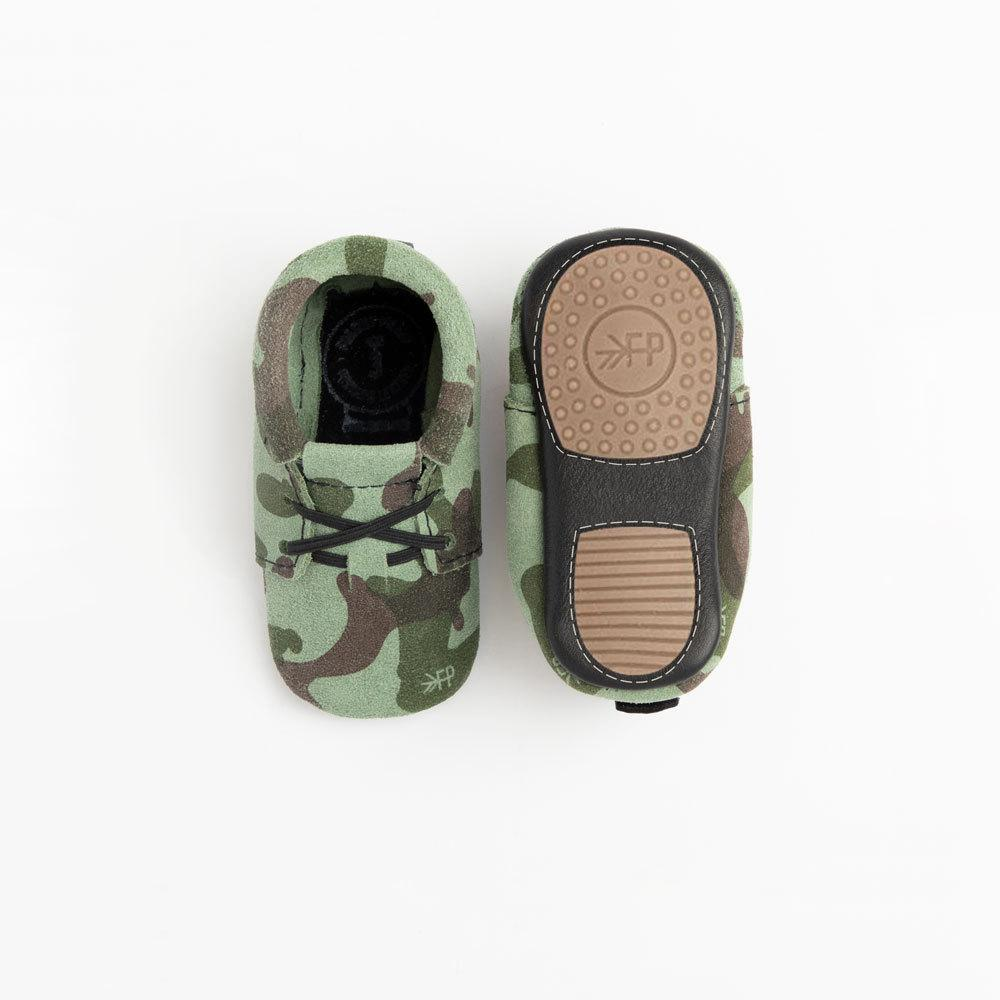 Green Camo Oxford Mini Sole Mini Sole Oxford mini soles