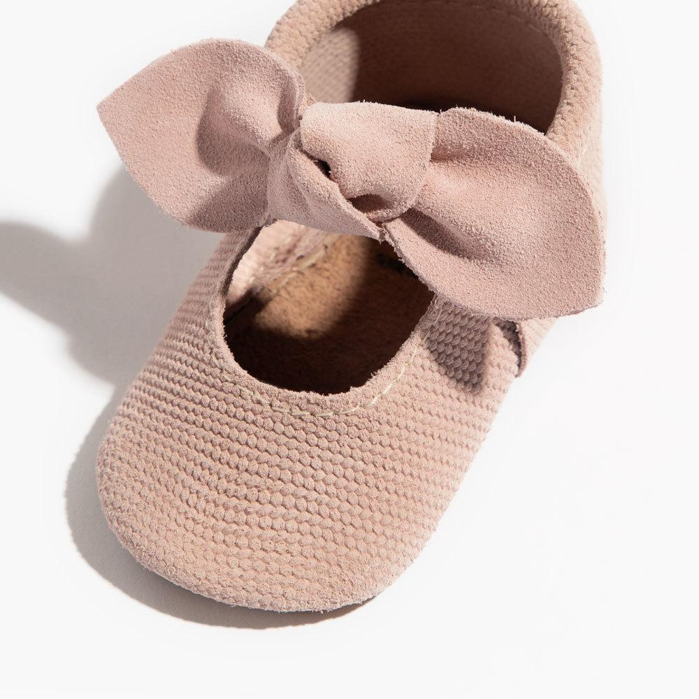 Cardigan Knotted Bow Mocc Mini Sole knotted bow mocc mini sole