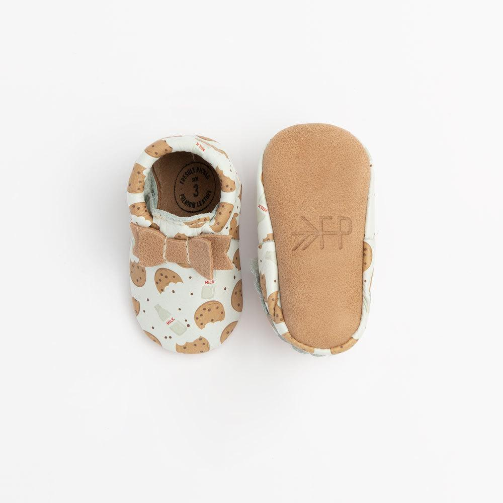 Chip Bow Mocc Bow Moccasins Soft Soles
