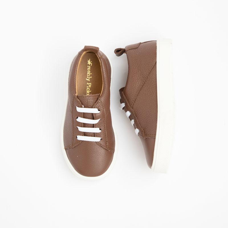 Milk Chocolate Classic Sneaker Kids - Classic Sneaker Kids Sneakers