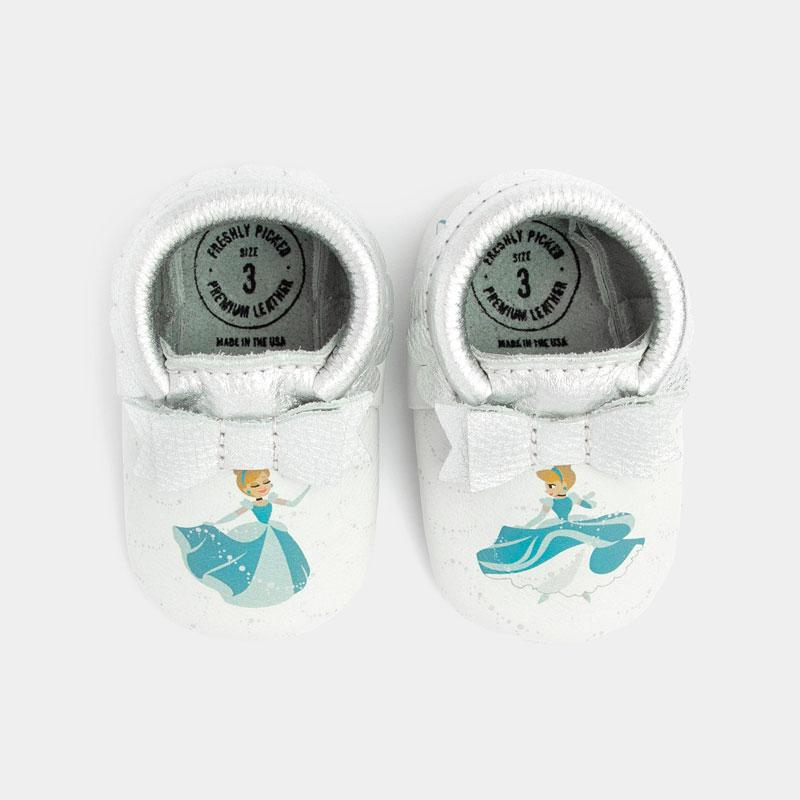 Cinderella Bow Mocc Bow Moccasins Soft Soles