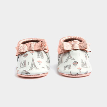City of Love Bow Mocc | Pre-Order Bow Moccasins Soft Soles