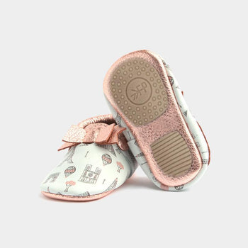 City of Love Bow Mocc Mini Sole Bow Moccasins mini soles