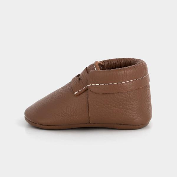 Cognac Penny Loafer Leather Baby And Toddler Shoes
