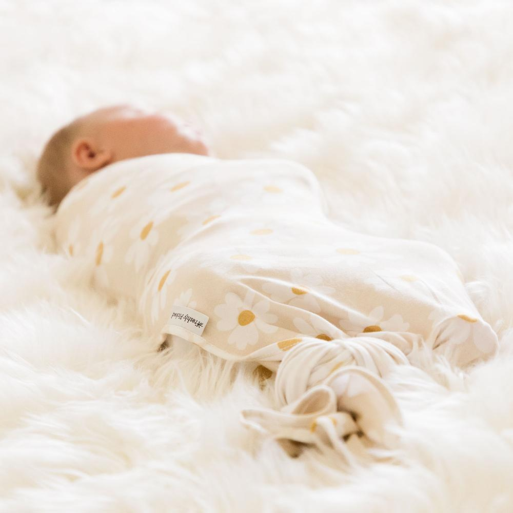 Daisy Fields Swaddle sleep swaddle