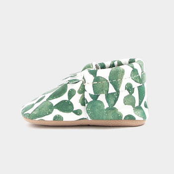 Green Cactus City Mocc | Pre-Order City Moccs Soft Soles
