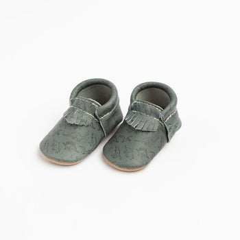 Grey DinoMania City Mocc City Moccs Soft Soles